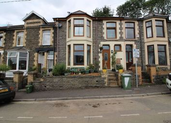 Thumbnail 4 bed terraced house for sale in Llwynmadoc Street, Graigwen, Pontypridd