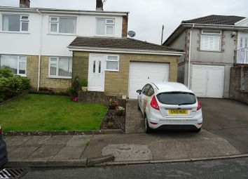 Thumbnail 3 bed semi-detached house for sale in Lowerdale Drive, Llantrisant, Pontyclun, Rhondda, Cynon, Taff.