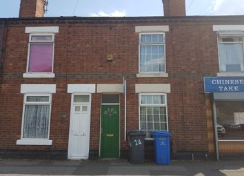 Thumbnail 1 bed terraced house to rent in Upper Moor Road, Derby