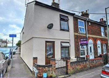 Thumbnail 3 bed end terrace house for sale in Gosford Road, Beccles