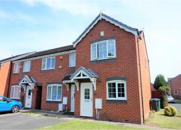 Thumbnail 2 bed end terrace house for sale in Beaumont Close, Tipton