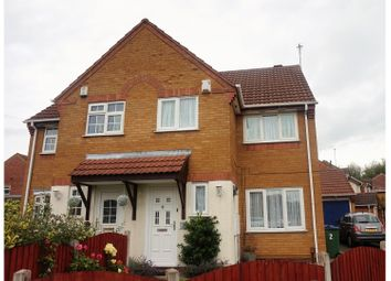 Thumbnail 3 bed semi-detached house for sale in Haines Close, Tipton