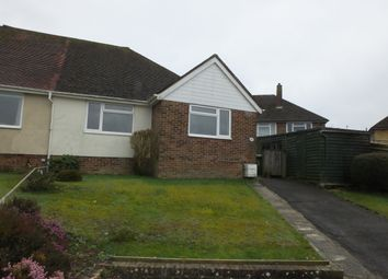 Thumbnail 2 bedroom semi-detached bungalow to rent in Cuckmere Rise, Heathfield