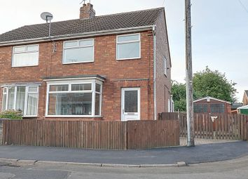 Thumbnail 3 bed semi-detached house for sale in Woollin Avenue, Scunthorpe