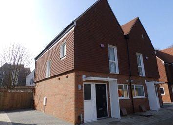Thumbnail 3 bed semi-detached house to rent in Spring Gardens, Burdett Road, Tunbridge Wells