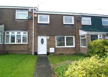 Thumbnail 3 bed terraced house to rent in Newlyn Drive, Parkside, Cramlington
