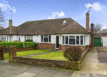Thumbnail 3 bed semi-detached bungalow for sale in Eley Drive, Rottingdean, Brighton