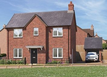 Thumbnail 3 bedroom detached house for sale in Bransford Road, Rushwick, Worcester