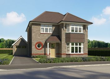 "Thumbnail 3 bed detached house for sale in ""Leamington Lifestyle"" at Walters Field, Roundswell, Barnstaple"