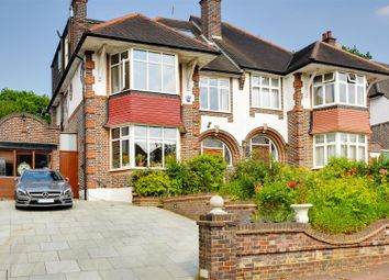 Thumbnail 5 bed semi-detached house for sale in Beech Drive, Muswell Hill