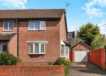 Thumbnail 2 bed semi-detached house for sale in Bossington Close, Rownhams, Southampton