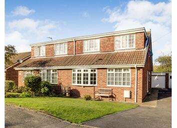 Thumbnail 4 bed semi-detached house for sale in Saffron Garth, Patrington