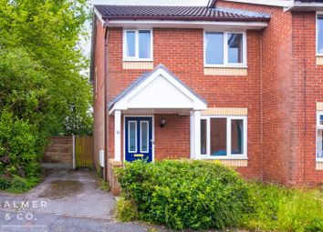 Thumbnail 3 bed semi-detached house to rent in Barnfield Close, Tyldesley, Greater Manchester