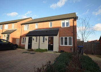 Thumbnail 3 bedroom semi-detached house for sale in Walmer Close, Marina Park, Northampton