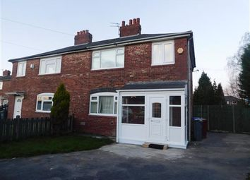 Thumbnail 4 bed semi-detached house to rent in Barnston Avenue, Manchester, Manchester