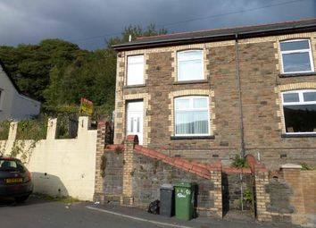 Thumbnail 2 bed end terrace house to rent in St Mary Street, Risca, Newport