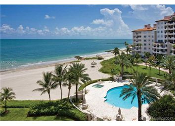 Thumbnail 3 bed town house for sale in 7455 Fisher Island Dr 7455, Miami Beach, Fl, 33109