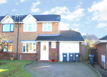 Thumbnail 3 bedroom semi-detached house for sale in Bagshawe Croft, Birmingham, West Midlands
