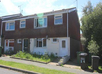 Thumbnail 3 bedroom end terrace house for sale in Hawkhurst Close, Langney, Eastbourne