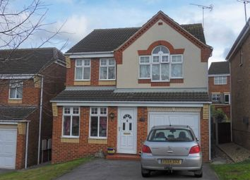 Thumbnail 4 bed detached house to rent in Fairfax Avenue, Worksop, Nottinghamshire