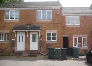 Thumbnail 2 bed terraced house to rent in Delamere Drive, Walsall
