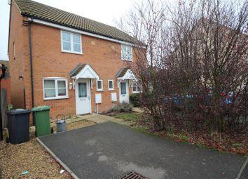 Thumbnail 2 bedroom semi-detached house for sale in Salix Road, Hampton Hargate, Peterborough