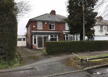 Thumbnail 3 bed semi-detached house to rent in Yardley Fields Road, Stechford, Birmingham