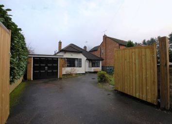 Thumbnail 3 bed detached bungalow for sale in East Butts Road, Rugeley