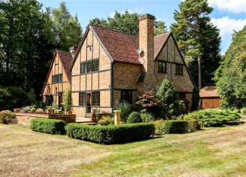 Thumbnail 5 bedroom detached house for sale in Earleydene, Ascot, Berkshire