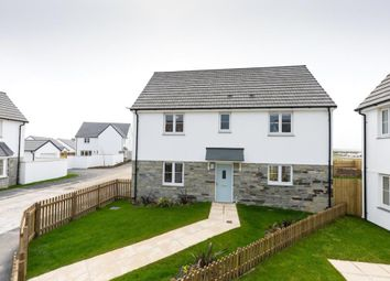 Thumbnail 4 bed detached house for sale in The Village, West Road, Quintrell Downs, Newquay