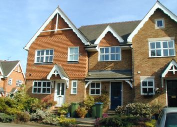 Thumbnail 2 bed terraced house to rent in Hadley Place, Weybridge, Surrey