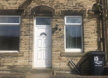 Thumbnail 2 bed terraced house for sale in Rose Place, Luddendenfoot, Halifax
