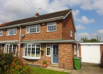 Thumbnail 3 bed semi-detached house for sale in Allington Drive, Appletree Village, York