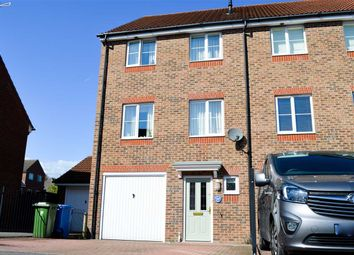 Thumbnail 4 bedroom end terrace house for sale in Woodland Walk, Aldershot