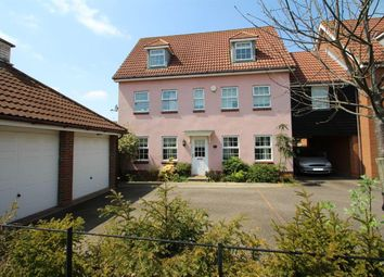 Thumbnail 5 bedroom link-detached house for sale in Century Drive, Grange Farm, Kesgrave, Ipswich