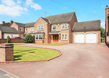 Thumbnail 4 bed detached house for sale in Birches Lane, South Wingfield