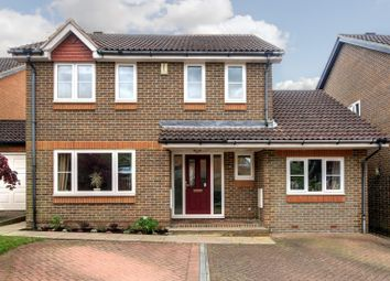Thumbnail 4 bed detached house for sale in Trefoil Close, Wokingham