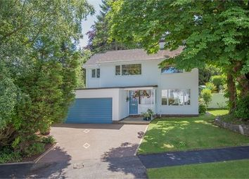 Thumbnail 4 bed detached house for sale in Courtenay Gardens, Wolborough Hill, Newton Abbot, Devon.
