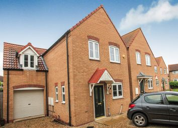 Thumbnail 4 bedroom detached house for sale in Margam Close, Eye, Peterborough