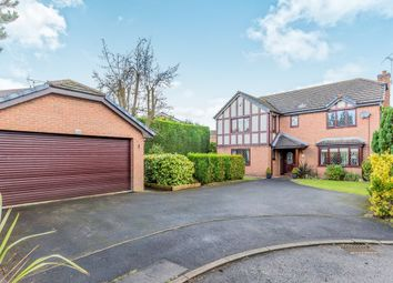 Thumbnail 4 bed detached house for sale in Barlow Way, Sandbach, Cheshire