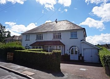 Thumbnail 3 bed semi-detached house for sale in Park Crescent, Abergavenny