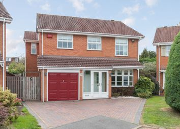 Thumbnail 4 bed detached house for sale in Rickard Close, Knowle, Solihull