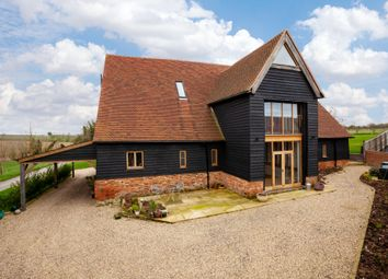 Thumbnail 4 bed barn conversion for sale in Lower Stoke Road, Ashen, Sudbury