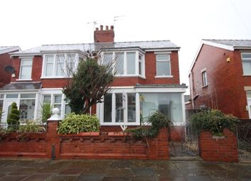 Thumbnail 3 bed semi-detached house for sale in Beckway Avenue, Blackpool