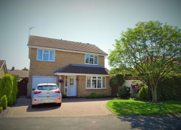 Thumbnail 4 bed detached house for sale in Blackthorne Road, Glenfield, Leicester