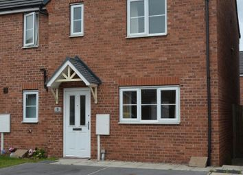 Thumbnail End terrace house to rent in Grebe Mews, Scunthorpe