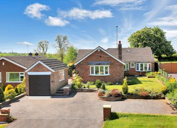 Thumbnail 4 bed detached bungalow for sale in Thorpe Satchville Road, Twyford, Melton Mowbray