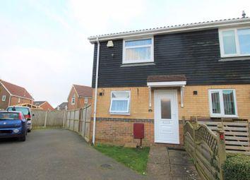 Thumbnail 2 bed terraced house for sale in Megone Close, Hawkinge, Folkestone