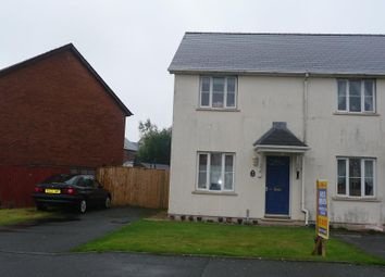 Thumbnail 3 bed semi-detached house to rent in Tudor Gardens, Merlins Bridge, Haverfordwest