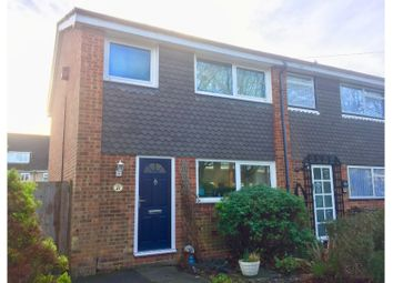 Thumbnail 3 bed end terrace house for sale in Ringway Road, Park Street, St Albans